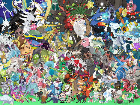The Alola Roster