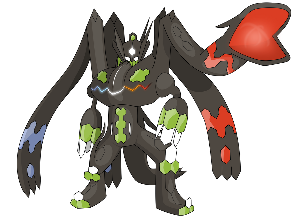 zygarde perfect form by awokenarts on deviantart