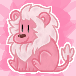 Big pink cat has all of my big pink love