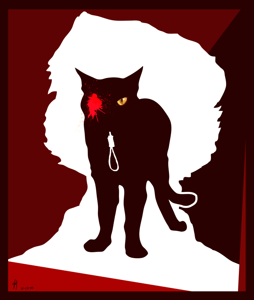 poes the black cat as an In this lesson, we will learn about edgar allan poe's short story, 'the black cat'  we examine its main events and characters and analyze the.