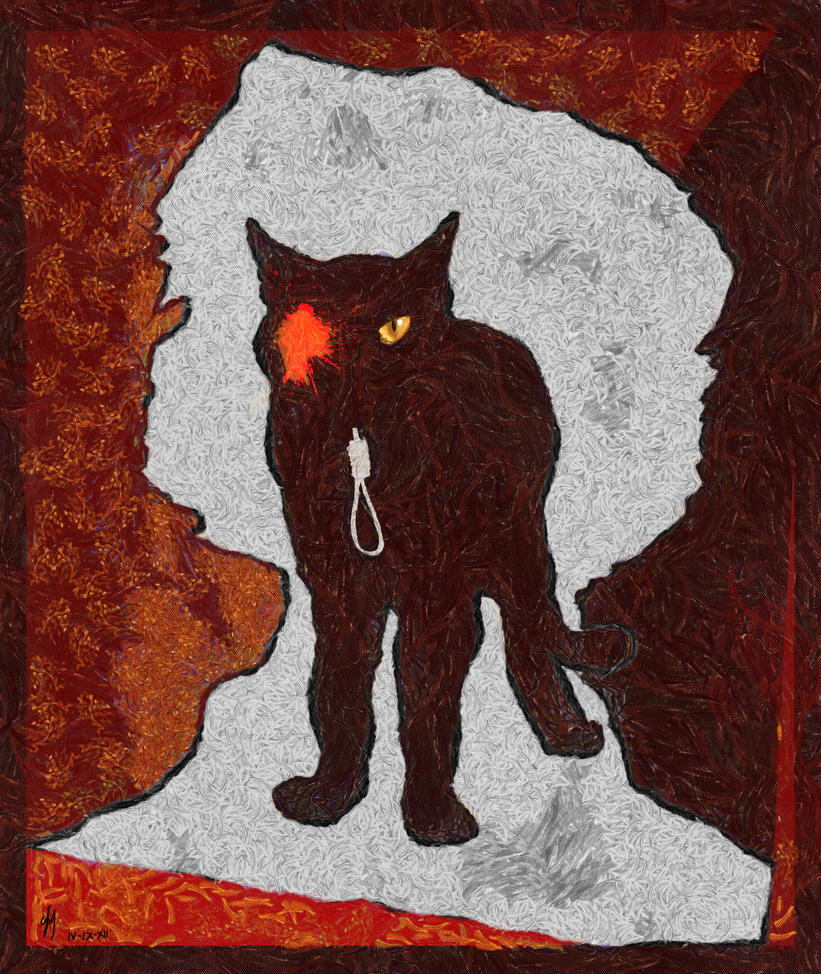 essays about the black cat by edgar allan poe