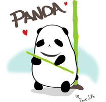 Panda by thredith