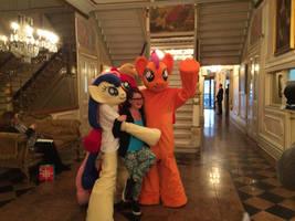 Ponies at Ponycon 2016 (Photo Credit: pjabrony)