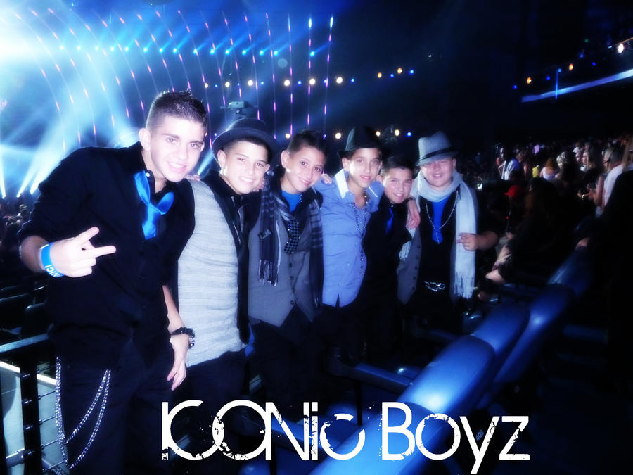 ICONic Boyz at the VMA's by lilubrownie
