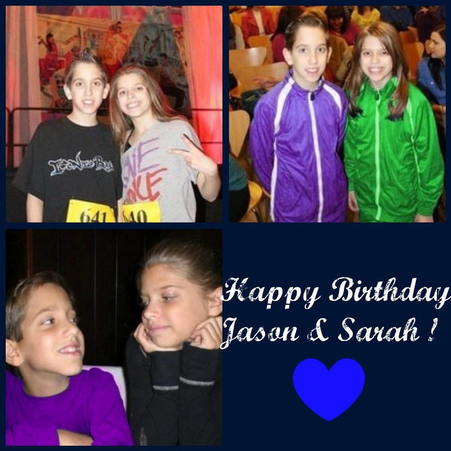 Happy Birthday Sarah and Jason by lilubrownie
