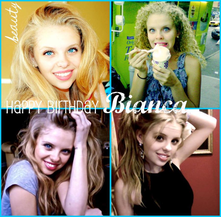 Happy Birthday Bianca by lilubrownie