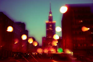Lights of Warsaw by wildandfurious