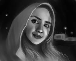 selfie by Lalochnica