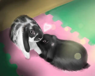 bunny`s love by Lalochnica