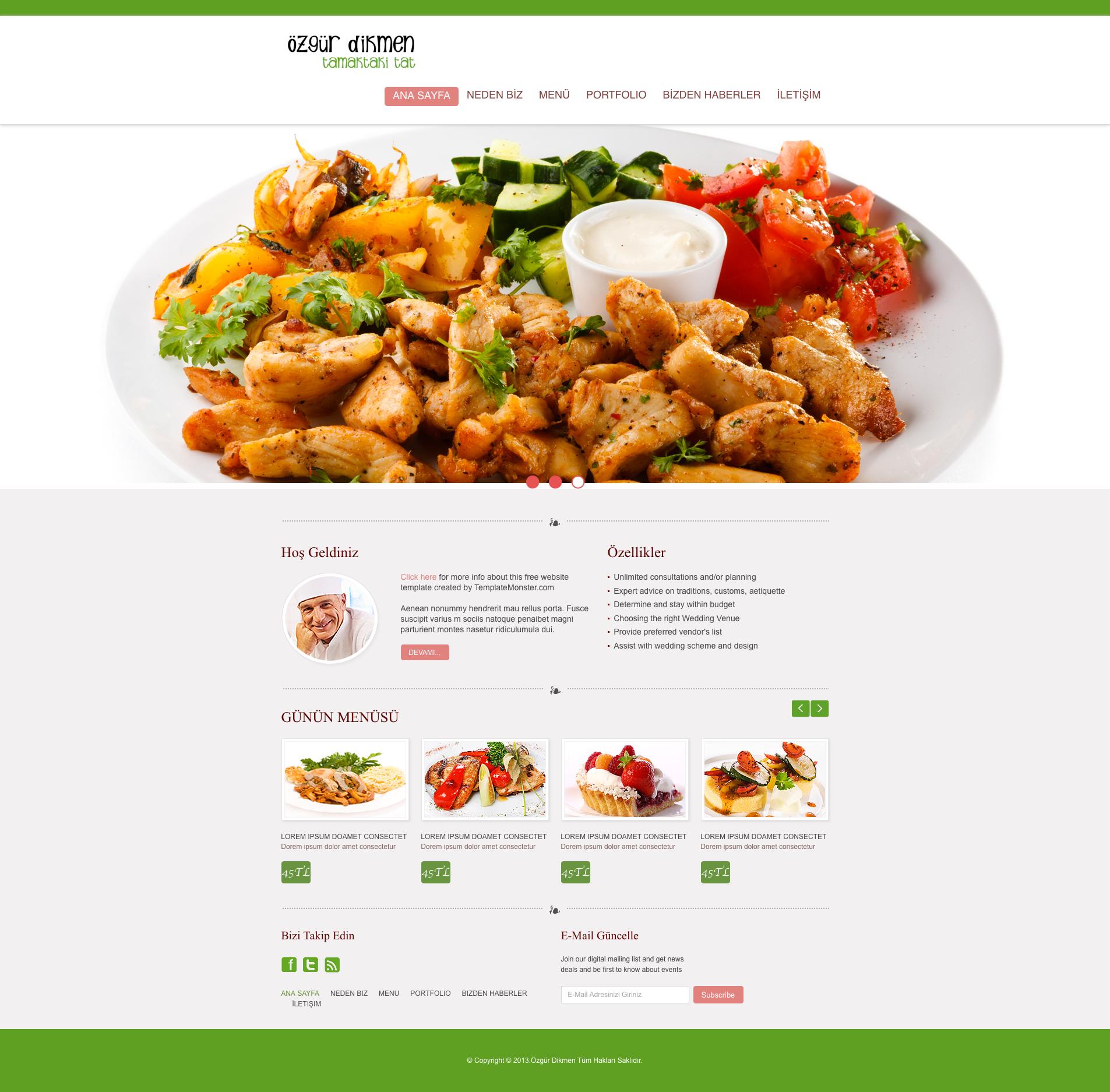 Food web template by ozgurdk on deviantart for Cuisine website