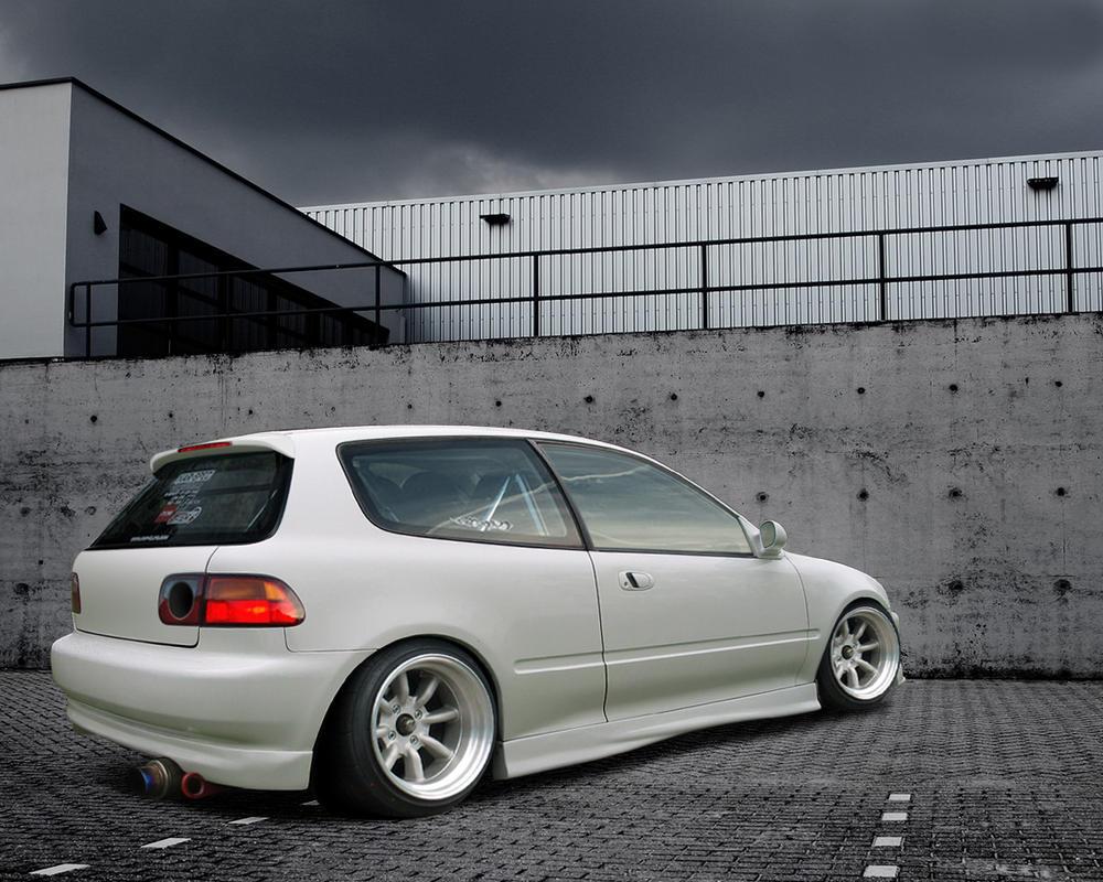 Honda Civic Drifting | Car Interior Design