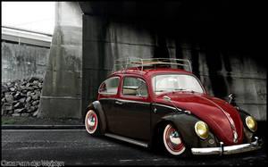Volkswagen beetle by Oscar-Weijden