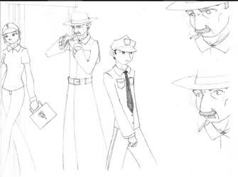 -Adept- Unused Sketches 1 by Baleshadow