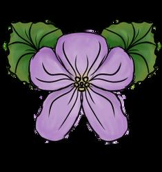 Violet Tattoo Design by moonfreak