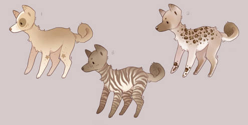 Freckle Doggo Adopts | closed