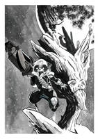 Rocket and Groot 2 by brendanpurchase