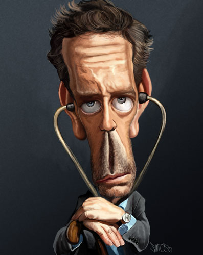 Dr Jones Caricature by