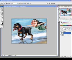 Actual Desktop Screenshot by nelsonsantos