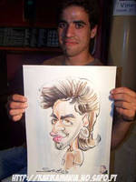 Live Caricature Rockabilly by nelsonsantos