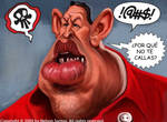 Hugo Chavez caricature