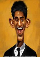 Dev Patel Caricature by nelsonsantos