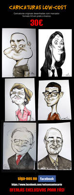 Fast Caricatures Low Cost