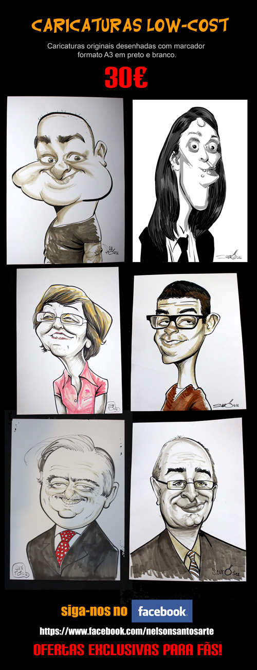 Fast Caricatures Low Cost by nelsonsantos