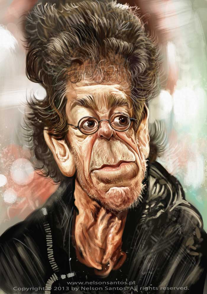 Lou-reed-caricature-by-nelson-santos