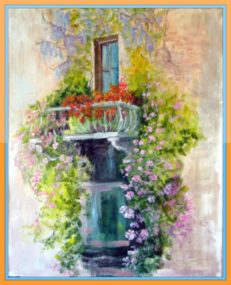 A french balcony by kandakis on deviantart for What is a balcony