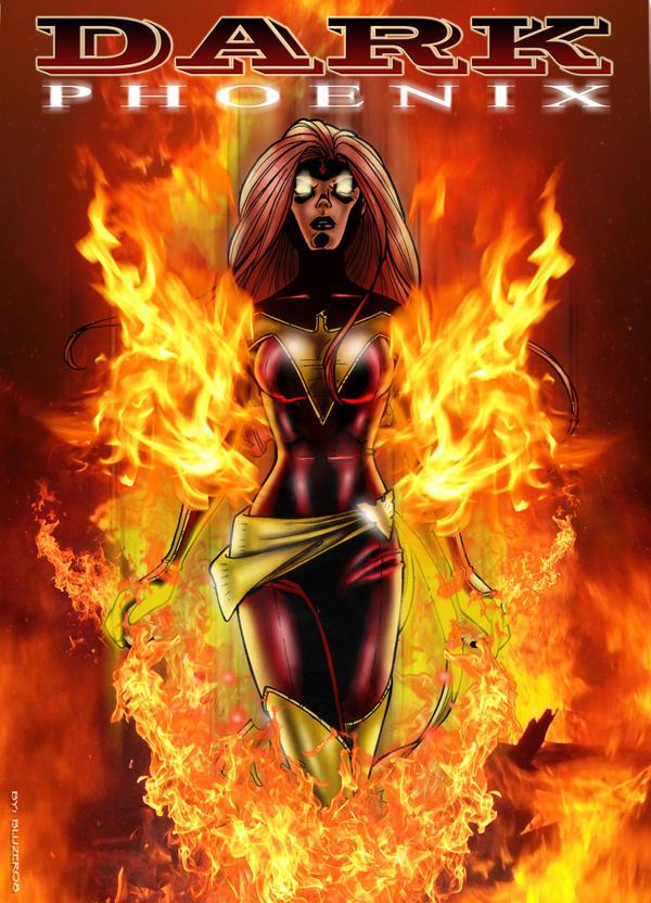 dark phoenix by bluzero8