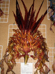 Phoenix Priestess mask by elementalillusions