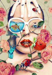 LOVE FLOWERS II by Uot-Mi