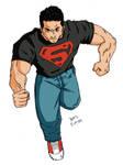 Superboy colors