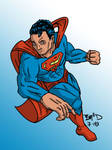 Superman basic colors