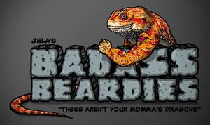 Jela's Badass Beardies Logo