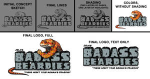 Badass Beardies design process