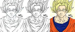 SSJ Goku - 2014