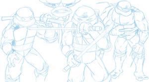 TMNT Sketch - 2014