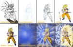 SSJ2 Goku - Process