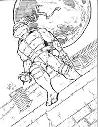 Raph on Roof