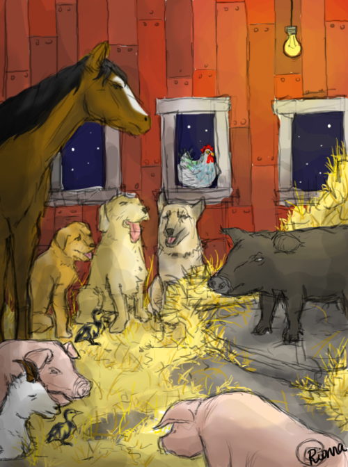 animal farm ch 1 5 This is an examination paper that is based on george orwell classic satire on the corrupting influence of power - the russian revolution to answer this paper, the chapters 1-5 of the book.