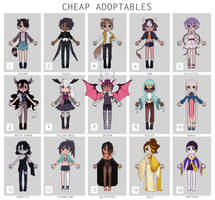 Cheap adoptables batch [CLOSED] by ReeSell