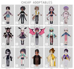 Cheap adoptables batch [CLOSED]
