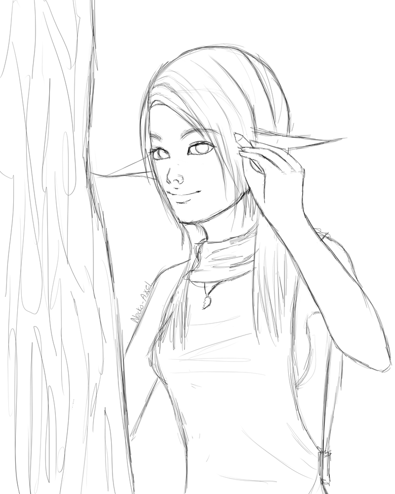 Elf-Me-WIP by Neko-Axel