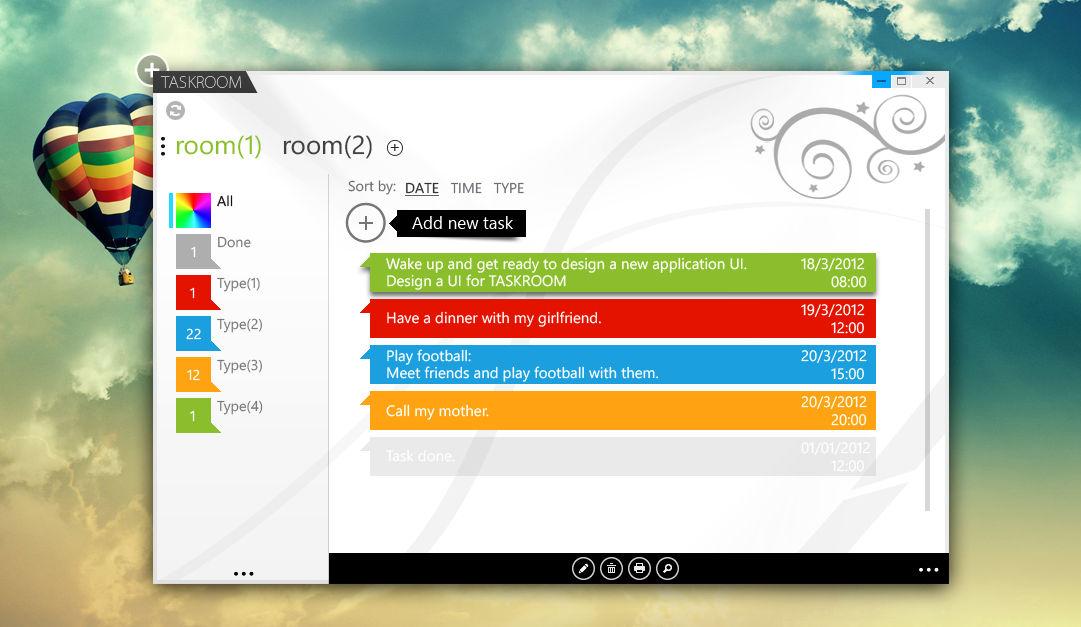 TaskRoom pre-screenshot