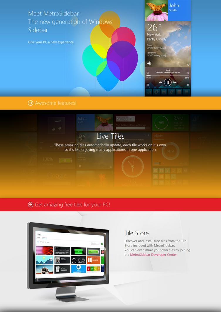 MetroSidebar 1.0.0 Final released
