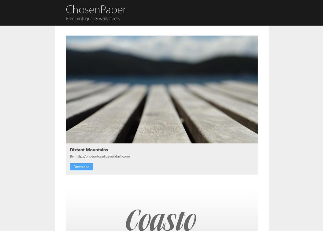ChosenPaper by amine5a5