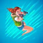 Gunsling Girl #4
