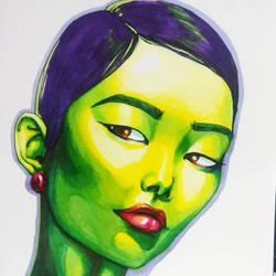 Copic Portrait #2