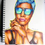 Copic Portrait #4